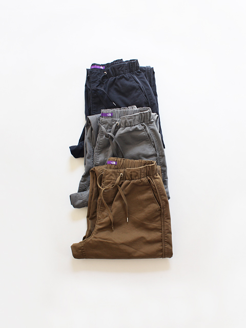 THE NORTH FACE PURPLE LABEL (ザ ノースフェィス パープルレーベル) Stretch Twill Shirred Waist Pants