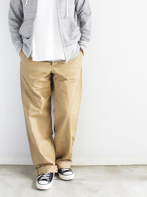 A VONTADE (ア ボンタージ)  Type 45 Chino Trousers -Wide Fit -
