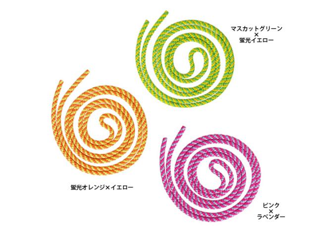 【新体操】ササキ ジュニアスパイラルロープ MJ243