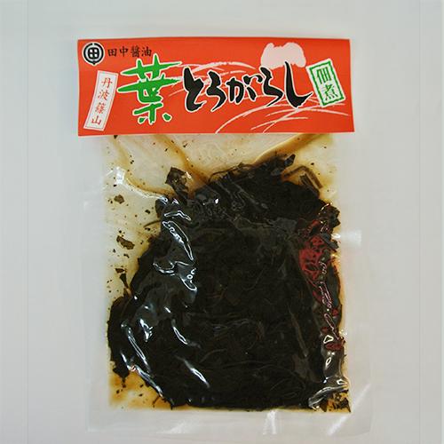 葉とうがらしの佃煮(丹波篠山田中醤油)