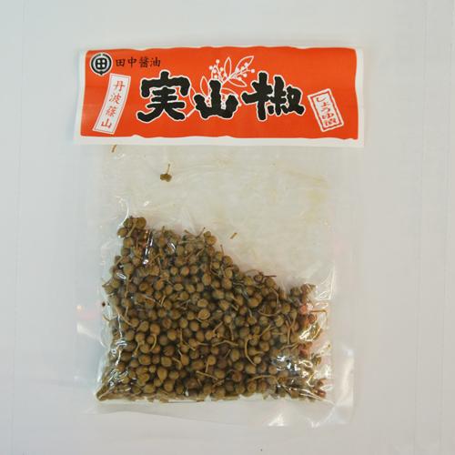 実山椒の佃煮(丹波篠山田中醤油)