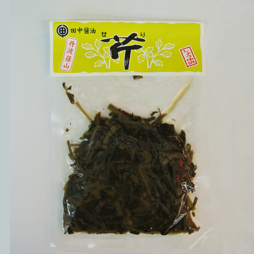 芹 しょうゆ漬(丹波篠山田中醤油)