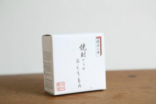 洗顔石鹸 薩摩の雫 焼酎からのおくりもの