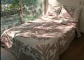 ハワイアンキルト ベッドカバー