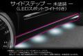 E-320W VISION/サイドステップ(LEDスポットライト付き)未塗装