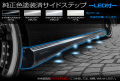 RGステップワゴン/サイドステップ(LED付)純正色塗装済み