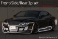 ベントレー コンチネンタル  GT BENTLEY CONTINENTAL GT  エアロパーツ3Pset フロント リア サイドステップ