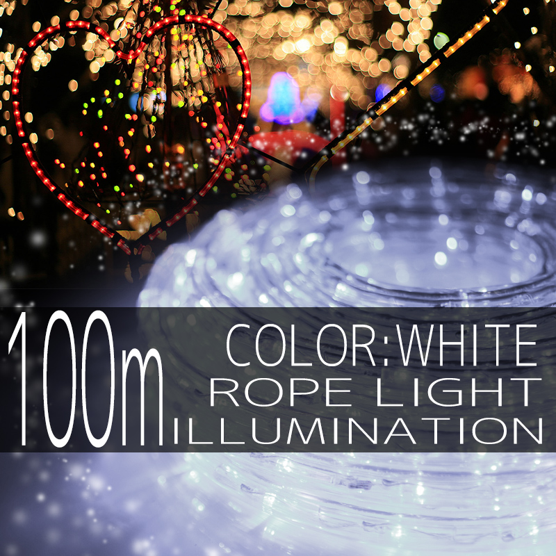 ����ߥ͡������ �?�� �饤�� 100m 3000�� 3000�� LED �� �ۥ磻�� ��Ĺ�� ���ꥹ�ޥ�����ߥ͡������ �����