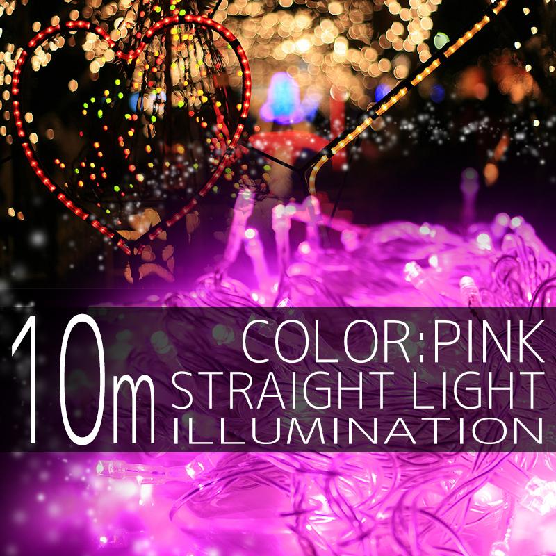 ����ߥ͡������ ���ȥ졼�� �饤�� 100�� 100�� LED �� �ԥ� ��Ĺ�� ���ꥹ�ޥ�����ߥ͡������ �����