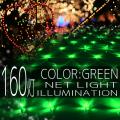 ����ߥ͡������ �ͥå� �饤�� �� 160�� 160�� LED 1m��2m �� ����� ��Ĺ�� ���ꥹ�ޥ�����ߥ͡������ �����