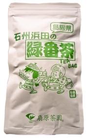 【エコプレミアム】緑番茶ティーバッグ(ひも付)