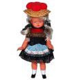 ヴィンテージ ドイツ 民族衣装の少女 ソフビ製