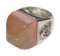 ヴィンテージ クリスチャンラクロワ Christian Lacroix デザインリング 指輪 11号