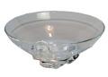 スチューベン グラス Steuben Glass (USA) クリスタルガラス ボウル コンポート 直径19高さ9cm