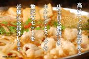 ◆送料無料◆国産牛ホルモンたっぷり!モツ鍋セット◆お得◆