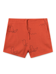 【BOBOCHOSES】119059 Geese Red Shorts