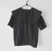 【frankygrowフランキーグロウ】19SCS-318/REMOVABLE BIG COLLAR TEE