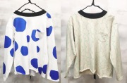 【frankygrowフランキーグロウ】CS-290/3PATTERNS SHEETING POCKET L/S TEE