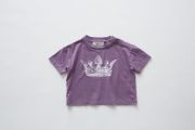 【eLfinFolk】elf-191J01 crown T-shirts
