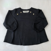 【eLfinFolk】 baby blouse/black