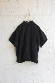 【UNIONINI】BL-011/linen big shirtレディースM