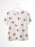 【BOBOCHOSES17ss】117023T-shirt V Neck Beach Ball