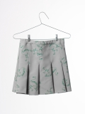 【BOBOCHOSES17ss】117072/Pleated skirt Flamingos AO
