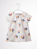 【BOBOCHOSES17ss】117204Baby Dress Beach Ball