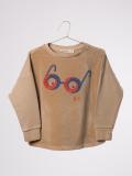 ��BOBOCHOSES16aw��AW16-184.026/Baby-Kids Sweatshirt Velvet Glasses