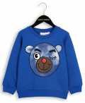 ��mini rodini�� Bear Sweatshirt Blue