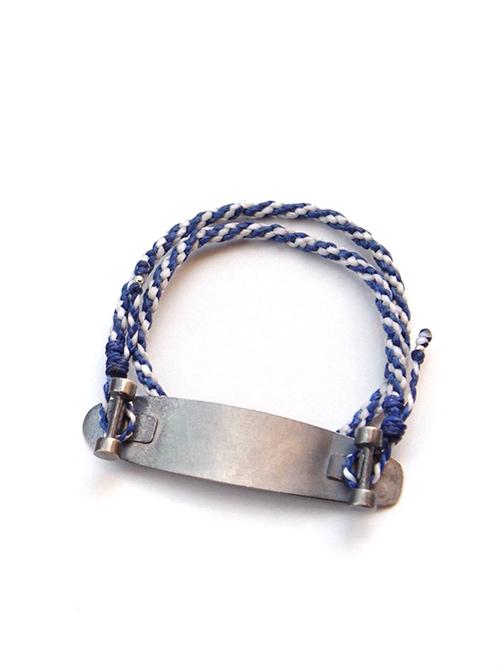 """AlexanderLeeChang(アレキサンダーリーチャン) """"sk8 bracelet"""" <バングル/ブレスレット> - 全2色"""