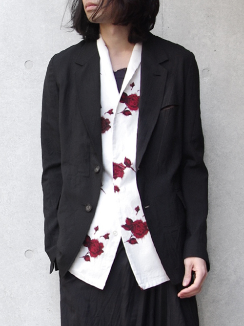 "【18SS】 BED J.W. FORD (ベッドフォード) ""NO PRESSED JACKET."" 18SS-B-JK01 <ジャケット> - BLACK"