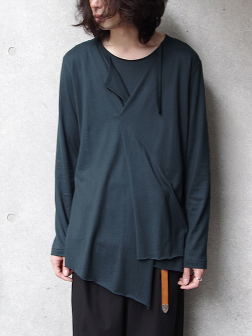 "【17AW】 BED J.W. FORD (ベッドフォード) ""long sleeve."" <カットソー> - 全3色"