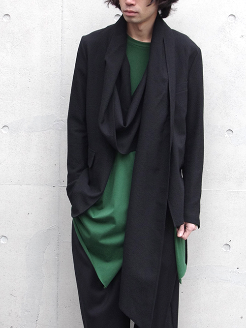 "【17SS】 BED J.W. FORD (ベッドフォード) ""BATTLE DRESS Snufkin. Ver.2"" <ジャケット> - BLACK"