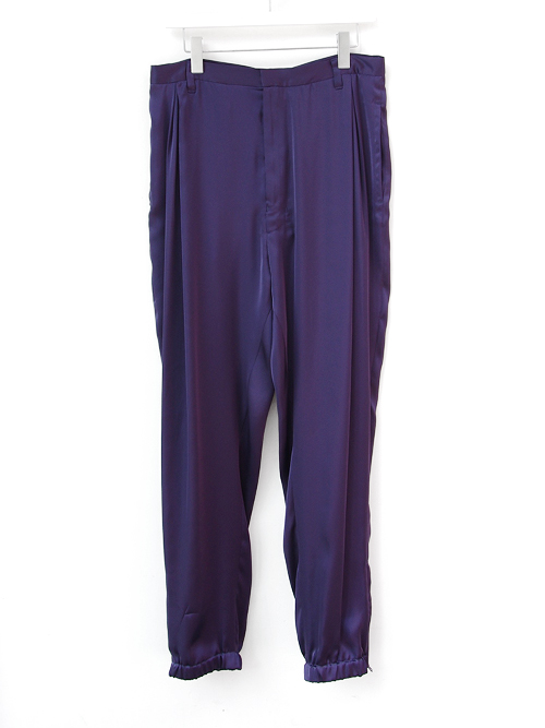 "【17SS】 BED J.W. FORD (ベッドフォード) ""Track Trousers. Ver.1"" <トラックパンツ> - PURPLE"
