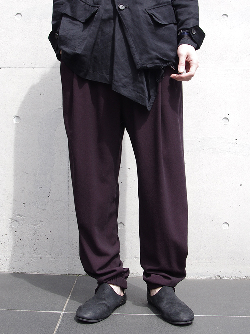 "【17SS】 BED J.W. FORD (ベッドフォード) ""Track Trousers. Ver.2"" <トラックパンツ> - LAVENDER"