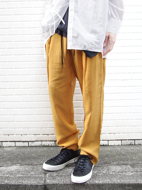 "<17SS>FFIXXED STUDIOS  (フィックス) // ""DOUBLE UP TROUSER"" <パンツ>"