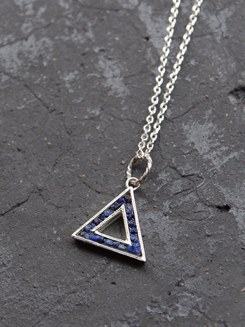"Garden of Eden (ガーデンオブエデン) ""SILVER TRIANGLE NECKLACE"" <シルバーネックレス>【送料無料】"
