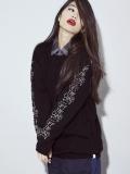 """AlexanderLeeChang(アレキサンダーリーチャン) """"OTC knit"""" <ニット> - BLACK"""
