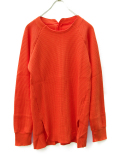 "【16AW】 BED J.W. FORD (ベッドフォード) ""CLOSET 01.""  <カットソー> - ORANGE"