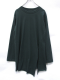 """【16AW】 BED J.W. FORD (ベッドフォード) """"Slit sleeve."""" <カットソー> - FOREST"""
