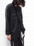 "【16AW】 BED J.W. FORD (ベッドフォード) ""Message Jacket Ver.1"" <ジャケット> - BLACK"
