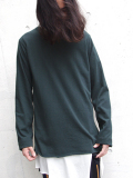 "【16AW】 BED J.W. FORD (ベッドフォード) ""Long sleeve."" <カットソー> - FOREST"