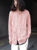 "【16AW】 BED J.W. FORD (ベッドフォード) ""Oriental."" <シャツ> - PINK"
