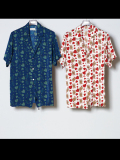 "【18SS】 BED J.W. FORD (ベッドフォード) ""Queen summer shirt."" 18SS-B-BL07 <シャツ> - 全2色"