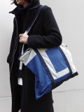 "<17AW> Edwina Horl  (エドウィナホール) // ""PANEL COLOR TOTE BAG"" <トートバッグ>"