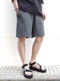 "is-ness(イズネス)  ""HOT MIX CARDBOARD KNIT SHORTS"" <ショートパンツ> - 全2色"