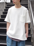 "JieDa(ジエダ)  ""KANOKO POCKET TEE"" <Tシャツ/カットソー> - 全3色"