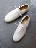 KIDS LOVE GAITE × KASEKICIDER (キッズラブゲイト) // SUEDE BALLET SHOES (レザーシューズ) - GRAY