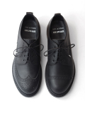 "KIDS LOVE GAITE × BED J.W. FORD ""ASYMMETRY BROGUE SHOES with GUIDI LEATHER"" <レザーシューズ>"